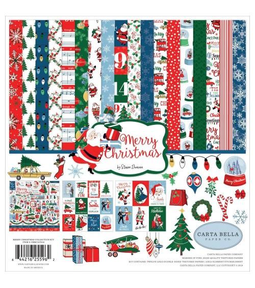 Carta Bella - Merry Christmas - Collection Kit