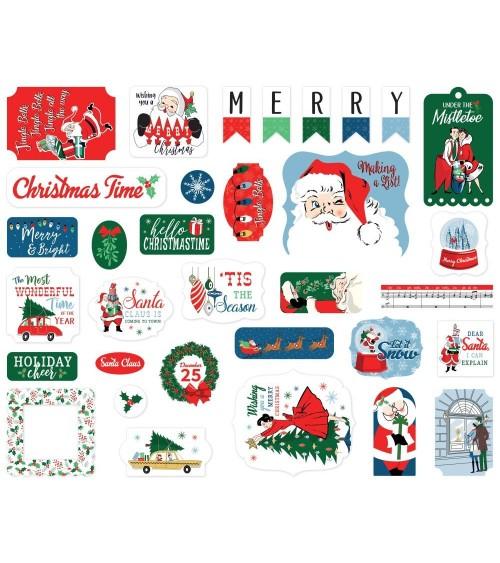 Carta Bella - Merry Christmas - Ephemera Die Cuts Icons