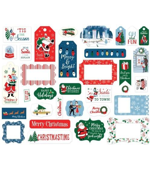 Carta Bella - Merry Christmas - Ephemera Die Cuts Frames & Tags