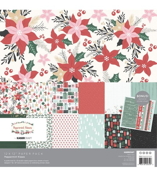 Kaisercraft - Peppermint Kisses - Collection Pack