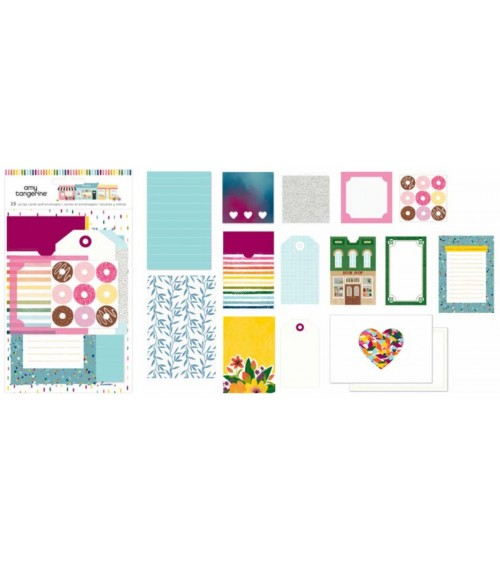 AC - Amy Tangerine Slice of Life - Stationery Pack