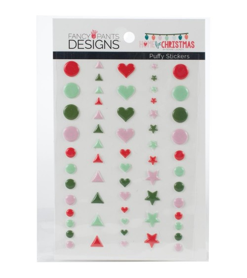 Fancy Pants - Home for Christmas - Puffy Sticker