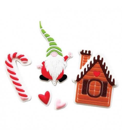 Fancy Pants - Home for Christmas - Silicone Embellishments