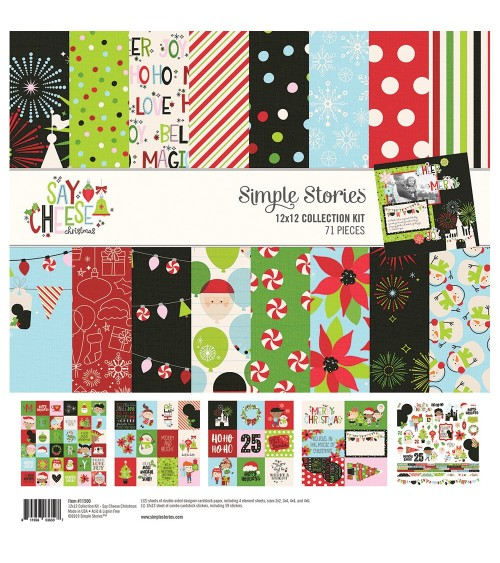 Simple Stories - Say Cheese Christmas - Collection Kit