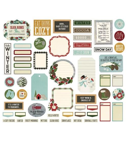 Simple Stories - Winter Farmhouse - Journal Bits&Pieces