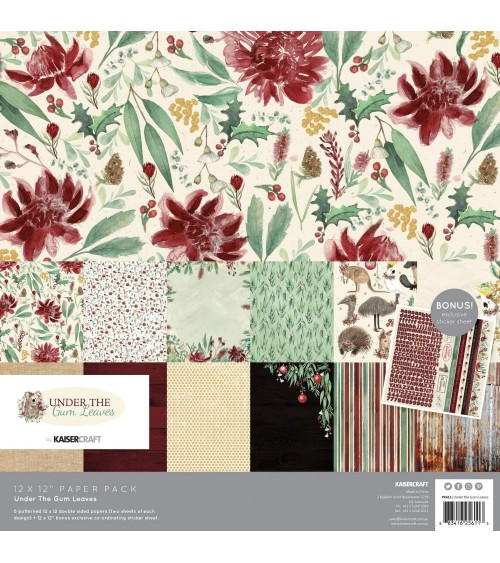 Kaisercraft - Under The Gum Leaves - Collection Pack
