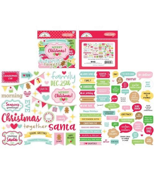 Doodlebug - Christmas Magic - Chit Chat Ephemera Die-Cuts