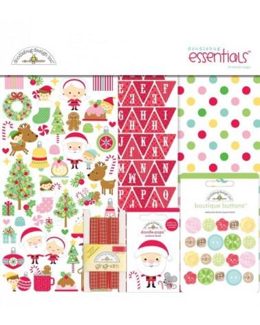 Doodlebug - Christmas Magic - Essentials Page Kit