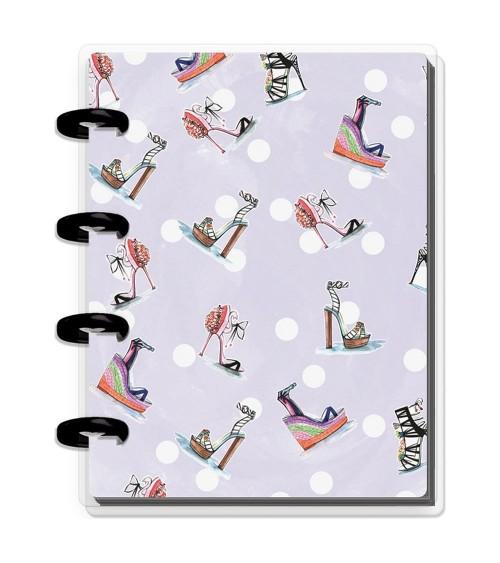 MAMBI - Happy Planner X Rongrong Micro Memo Book - Heels Purple