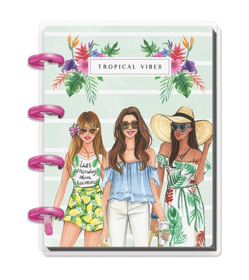 MAMBI - Happy Planner X Rongrong Micro Memo Book - Summer Vibes
