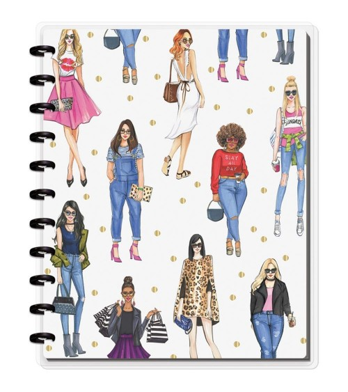 MAMBI - Happy Planner X Rongrong Big Notebook - Slay All Day