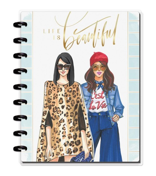 MAMBI - Happy Planner X Rongrong Medium Notebook - Life Is Beaut