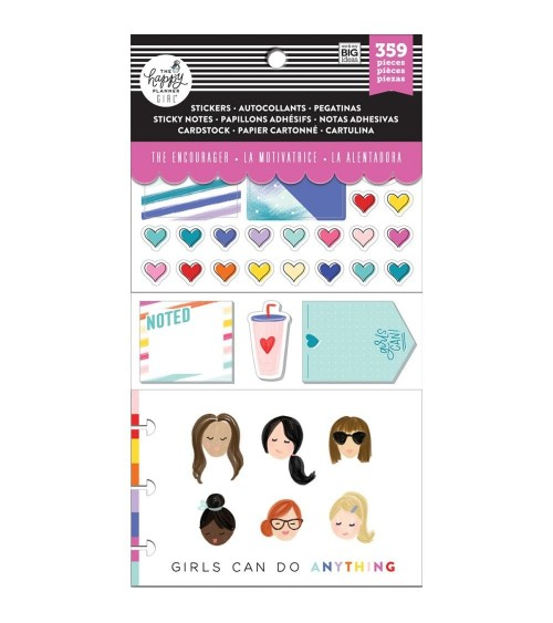 MAMBI - Happy Planner Cards/Sticky Note Multi P. - Encourager