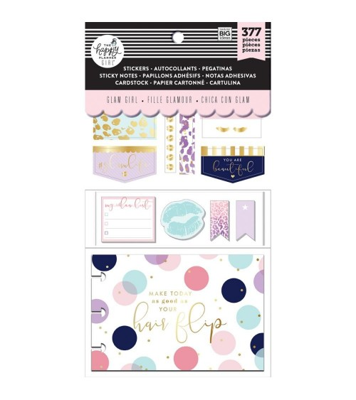 MAMBI - Happy Planner Cards/Sticky Note Multi P. - Glam Girl