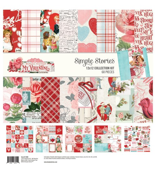 Simple Stories - My Valentine - Collection Kit