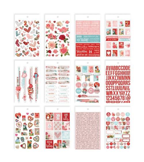 Simple Stories - My Valentine - Mini Sticker Tablet
