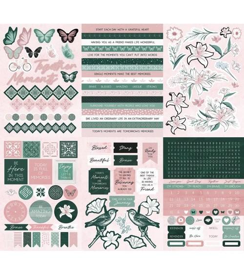 Kaisercraft - Lily & Moss - Sticker Pad