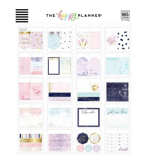 MAMBI - Happy Planner Tiny Sticker Pad - Glam Girl