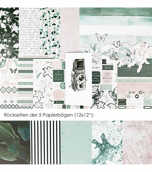 "Memory Notebook Kit ""Lily & Moss"""