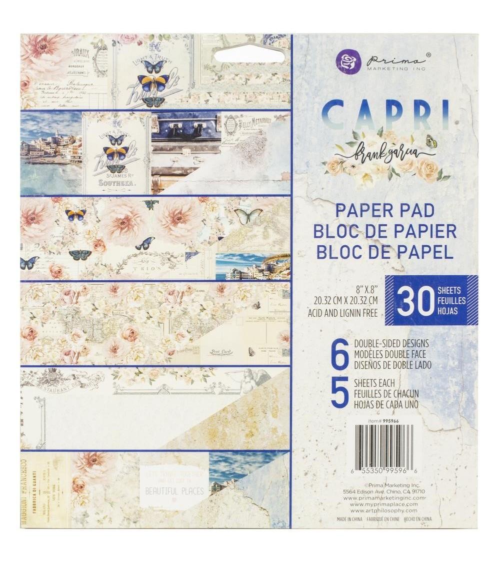 "Prima - Frank Garcia CAPRI - Paper Pad 8x8"""