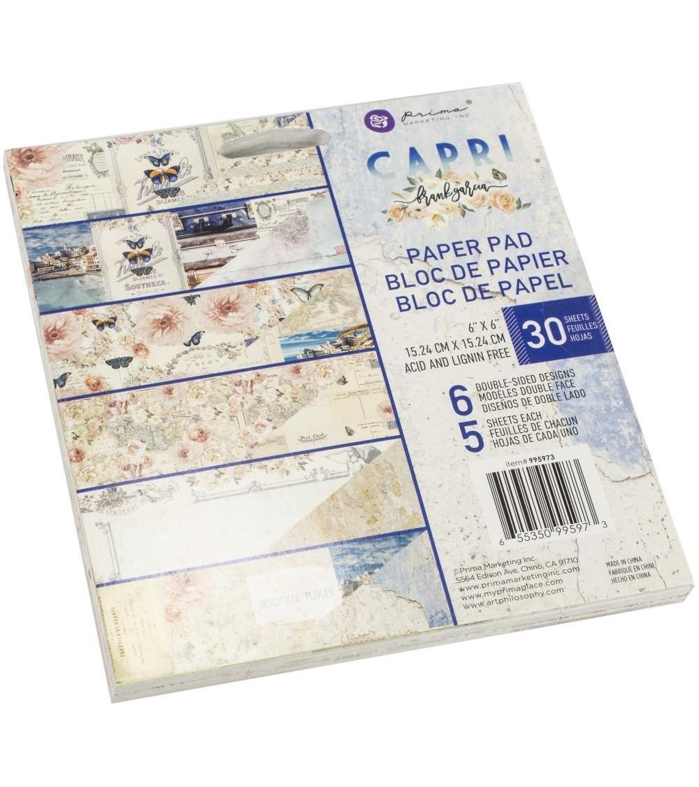 "Prima - Frank Garcia CAPRI - 6x6"" Paper Pad"