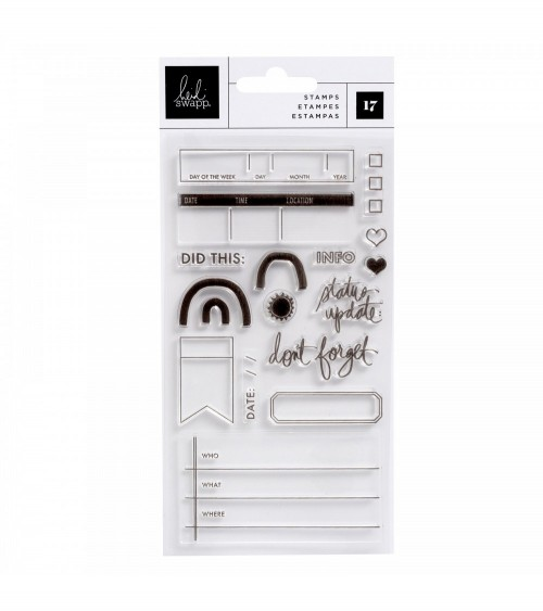 AC - Heidi Swapp Storyline Chapters - Clear Stamps