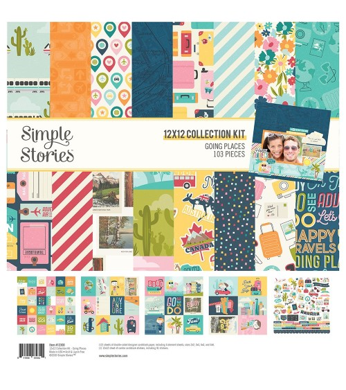 Simple Stories - Going Places - Collection Kit
