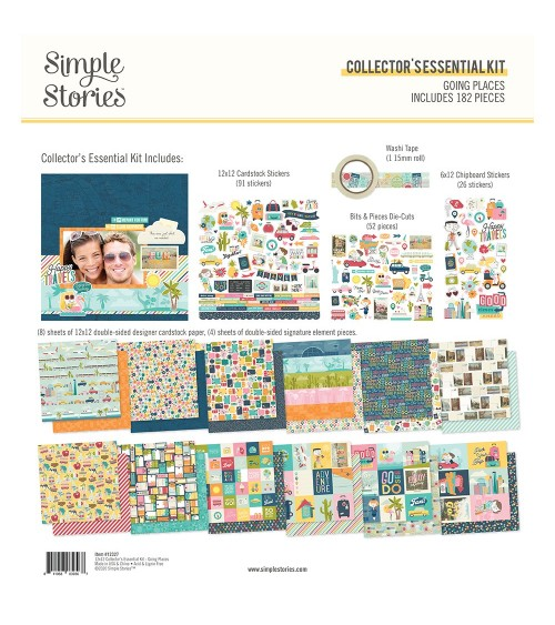 Simple Stories - Going Places - Collector's Essential Kit