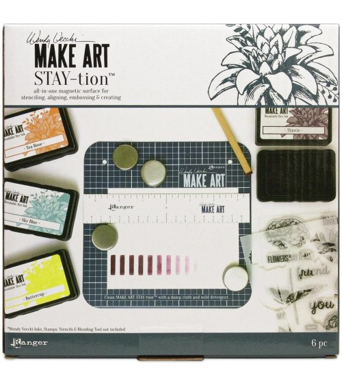 "Wendy Vecchi 7"" MAKE ART Stay-tion SMALL"