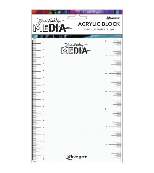 "Ranger - Dina Wakley Media - Stamping Block 5x7"""