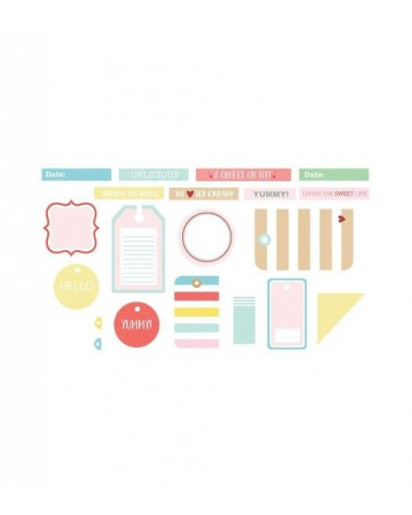 Fancy Pants - A Cherry On Top - Tags and Labels
