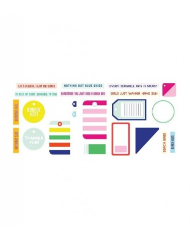 Fancy Pants - Vitamin Sea - Tags and Labels