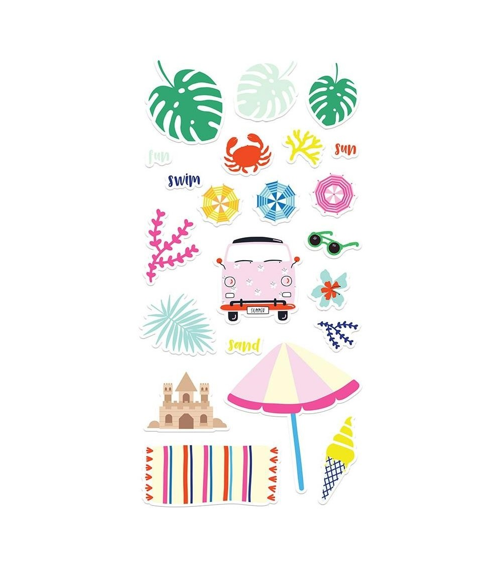 Fancy Pants - Vitamin Sea - Chipboard Stickers