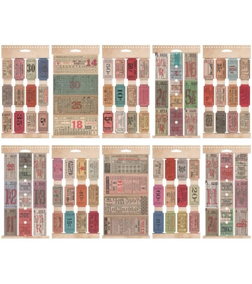 Tim Holtz - Idea-ology - Ticket Sticker Book