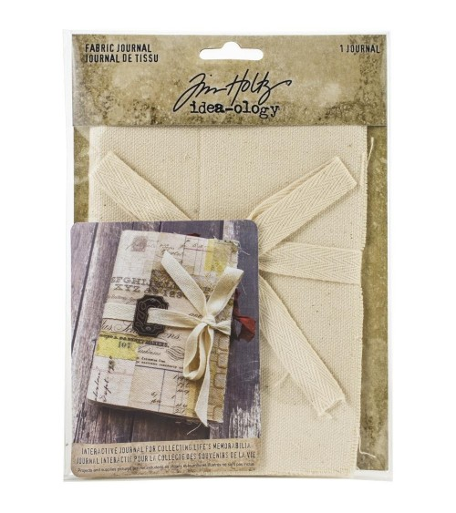 Tim Holtz - Idea-ology - Fabric Journal 4x6""