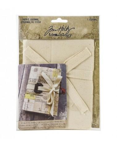 """Tim Holtz - Idea-ology - Fabric Journal 4x6"""""""