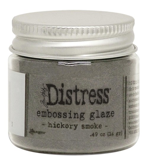 Ranger - Tim Holtz Embossing GLAZE Powder - Hickory Smoke
