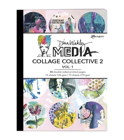 Ranger - Dina Wakley Media - Collage Collective 2 Vol. 1