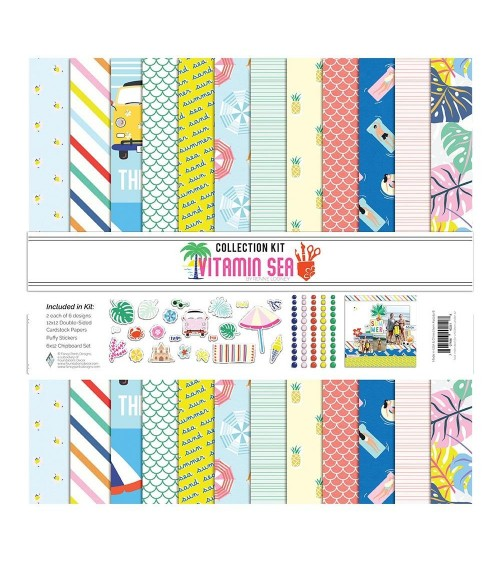 Fancy Pants - Vitamin Sea - Collection Kit
