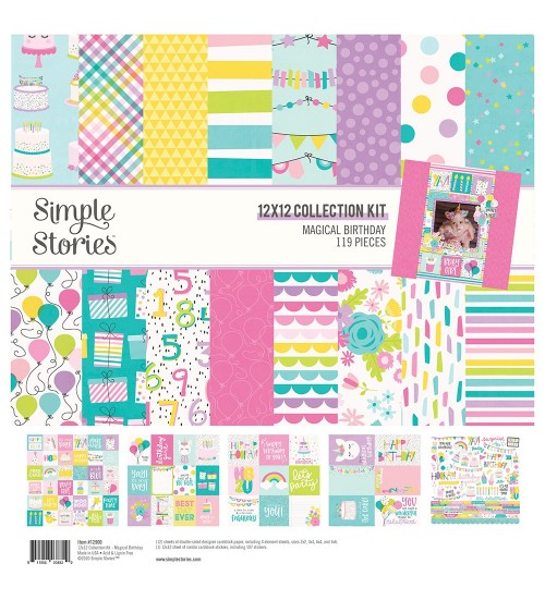 Simple Stories - Magical Birthday - Collection Kit