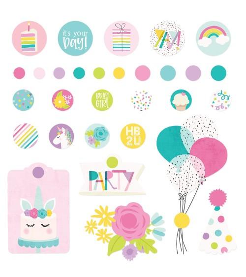 Simple Stories - Magical Birthday - Decorative Brads