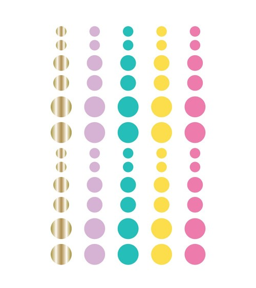 Simple Stories - Magical Birthday - Enamel Dots