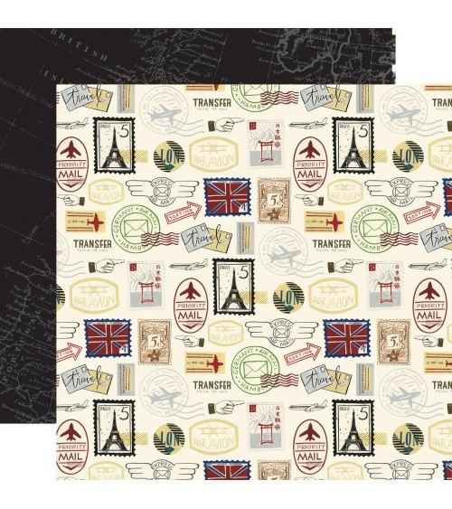 Echo Park - Scenic Route -  Postage Stamps