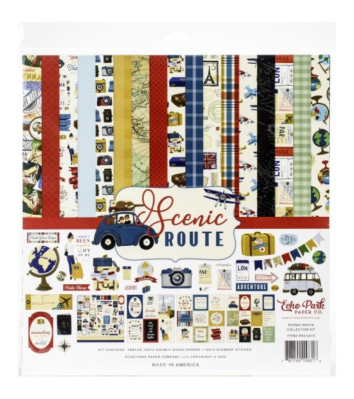 Echo Park - Scenic Route - Collection Kit