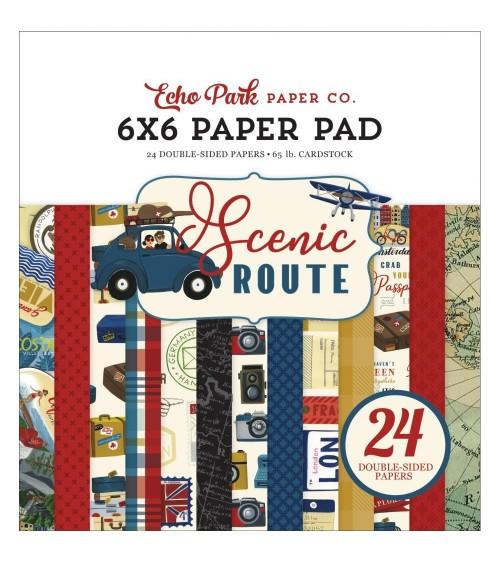 "Echo Park - Scenic Route - 6x6"" Paper Pad"