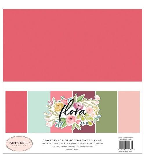 Carta Bella - Flora No. 3 - Solids Paper Pack