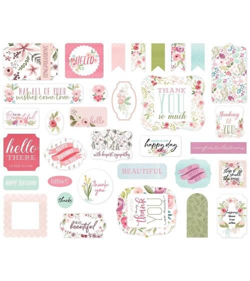 Carta Bella - Flora No. 3 - Ephemera Die Cuts Icons