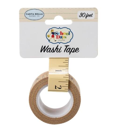Carta Bella - School Days - Washi Tape Ruler