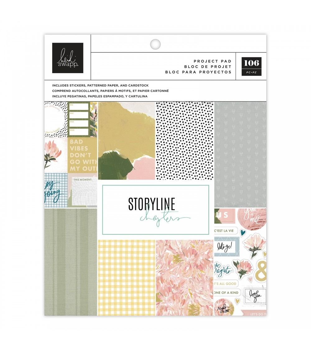 Heidi Swapp - Storyline Chapters -Project Pad The Planner