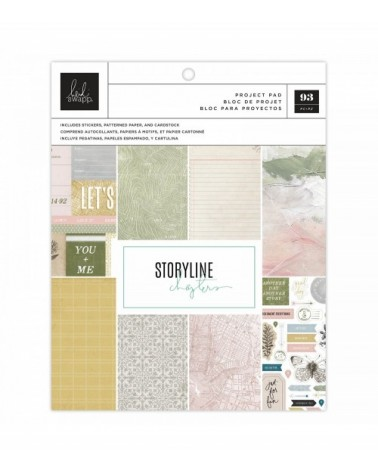 Heidi Swapp - Storyline Chapters -Project Pad The Scrapbooker
